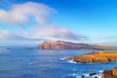 dunquin: Coastline of Dingle Peninsula in Ireland Stock Photo