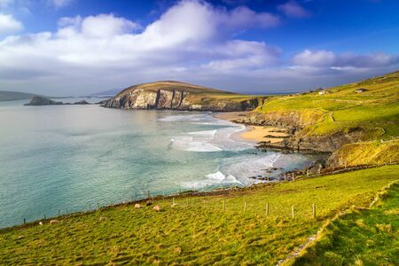 co kerry: Dunquin bay in Co. Kerry, Ireland Stock Photo