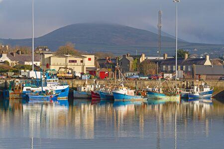 co  kerry: Irish seaport scenery in Dingle, Co. Kerry Stock Photo
