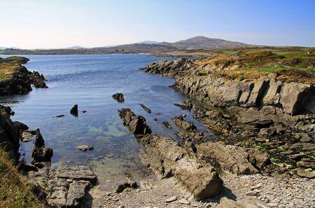 rocky coastline: Rocky coastline scenery