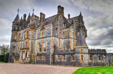 co cork: Blarney House at castle gardens in Co. Cork, Ireland