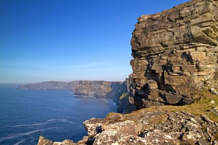 moher: Cliffs of Moher in west Ireland