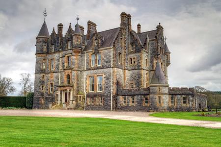 co cork: Stone mansion at Blarney castle in Co. Cork, Ireland