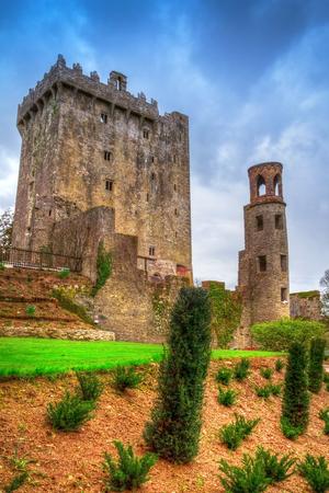 co cork: Medieval Blarney Castle in Co. Cork, Ireland