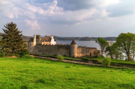 Parkes Castle in County Leitrim, Ireland