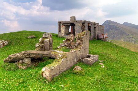 achill: Empty mountain house on Achill Island, Co. Mayo, Ireland Stock Photo