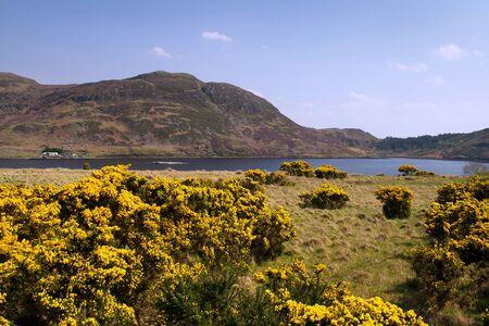 achill: Mountains of Achill Island, Co. Mayo - Ireland Stock Photo