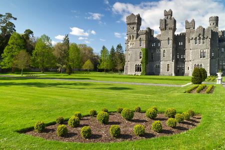 Ashford Castle And Gardens In Co. Mayo, Ireland Stock Photo   59242258
