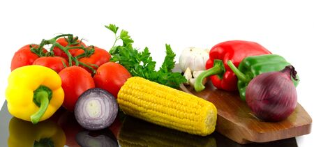 composition: Vegetables composition Stock Photo