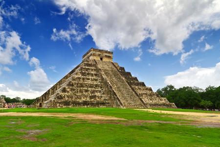 itza: Kukulkan pyramid in Chichen Itza