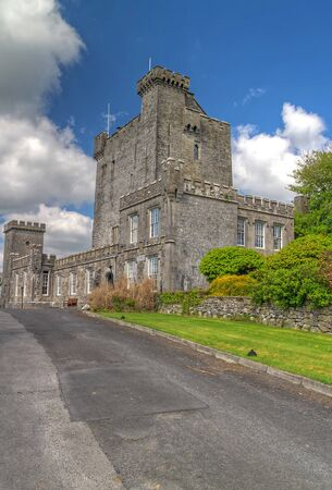15th century: 15th Century Knappogue Castle in Co. Clare, Ireland Editorial