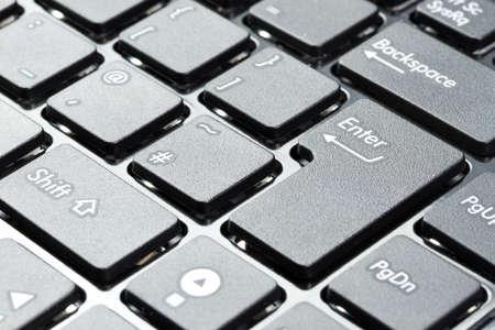 enter button: Enter button on keyboard
