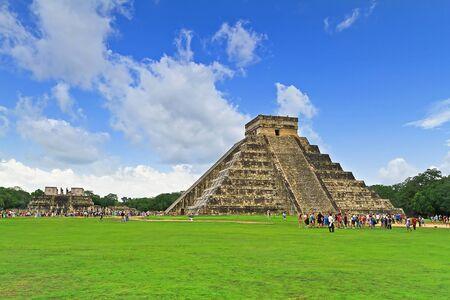 kukulkan: Kukulkan pyramid in Chichen Itza