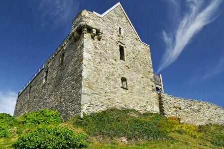 co cork: 17th century Dunasead Castle, Baltimore, Co. Cork in Ireland Editorial