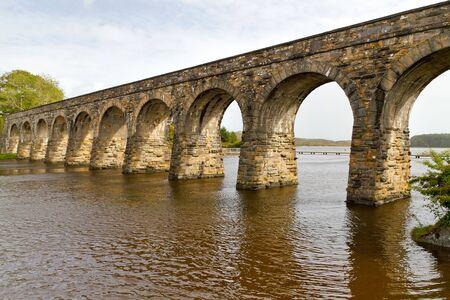 co cork: Disused railway viaduct in Ballydehob, Co. Cork, Ireland