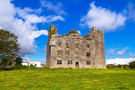 burren: Leamaneh castle in Burren, Co. Clare, Ireland