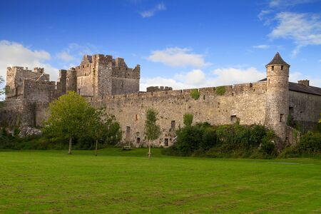 county tipperary: Cahir castle in county Tipperary, Ireland