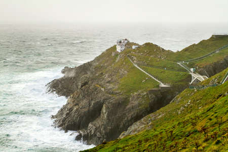 co cork: Lighthouse at Mizen Head, Co. Cork