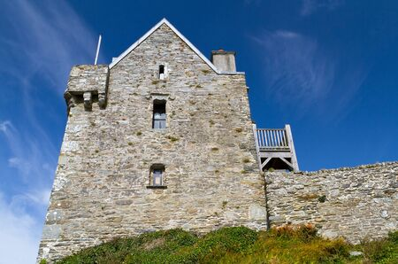 17th: 17th century Dunasead Castle, Baltimore, Co. Cork in Ireland Editorial