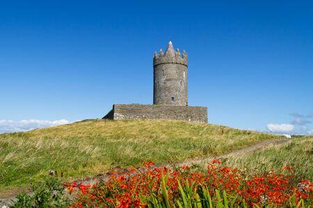 doolin: Doonagore Castle near Doolin, Ireland