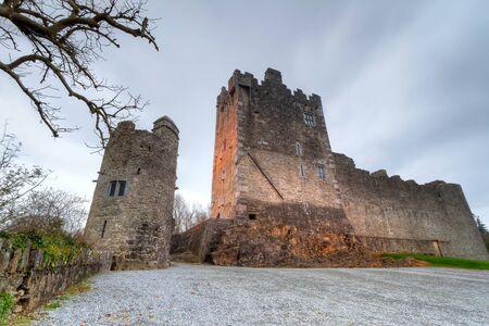 co  kerry: Ross Castle near Killarney, Co. Kerry, Ireland Editorial