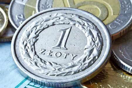 zloty: Polish zloty coins
