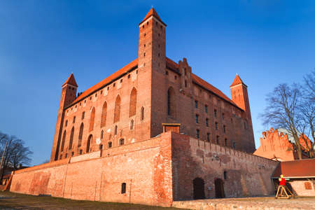 14th century: 14th century Teutonic castle in Gniew, Poland