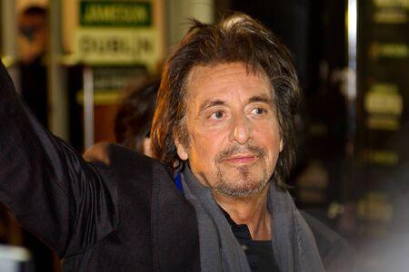Al Pacino at the premiere of his Wilde Salome movie at Jameson Dublin International Film Festival