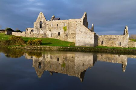 14th: 14th Century Franciscan Friary in Askeaton, Co. Limerick, Ireland Editorial