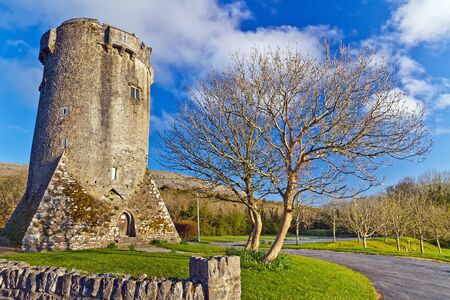 16th century: 16th century Newtown Castle, Co. Clare, Ireland Editorial