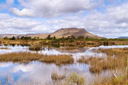 connemara: Connemara mountains and lake scenery, Ireland