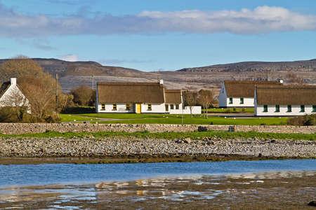 burren: Irish cottage houses in Burren, Co. Clare
