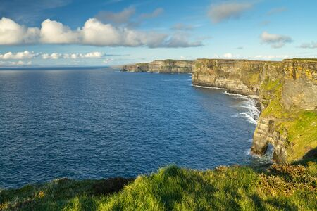 doolin: Cliffs of Moher in Co. Clare, Ireland Stock Photo