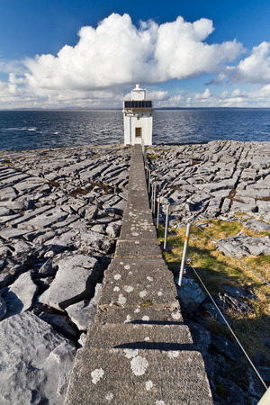 burren: Burren Lighthouse in Co.Clare, Ireland