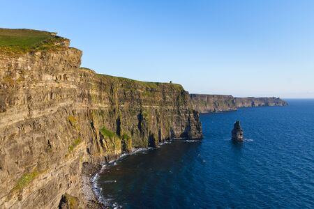 moher: Cliffs of Moher in Co. Clare, Ireland Stock Photo