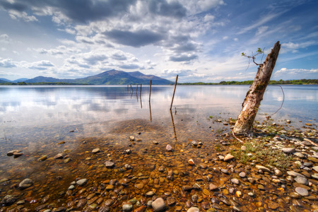 Idyllic scenery of Killarney lake in Ireland Stock Photo - 59362627