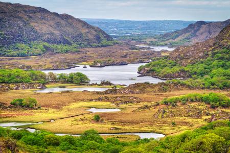 co  kerry: Irish mountains of Killarney pass, Co. Kerry Stock Photo