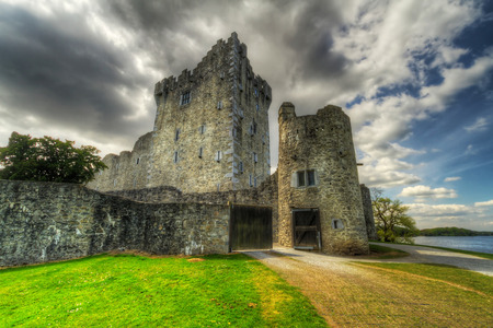 co  kerry: Ross Castle near Killarney, Co. Kerry, Ireland Stock Photo