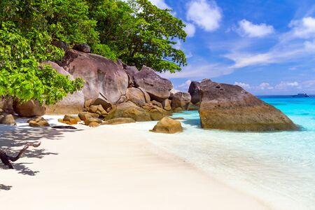 similan: Paradise lagoon of Similan islands, Thailand