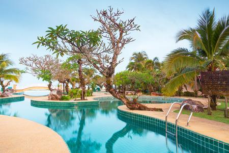 koh kho khao: Scenery of swimming pool at Andaman Princess Resort & Spa