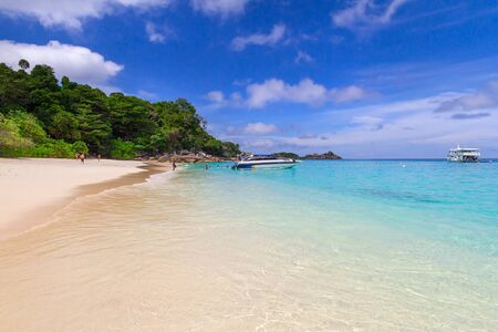 similan islands: Paradise lagoon of Similan islands, Thailand