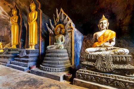 koh kho khao: Wat Tham Suwan Khuha cave