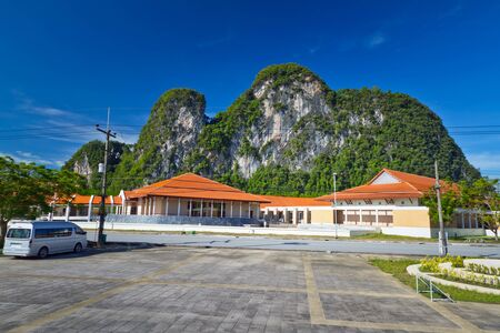 bond street: Scenery of Phang Nga Province in Thailand Stock Photo