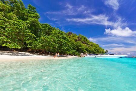 similan: Idyllic beach of Similan islands, Thailand