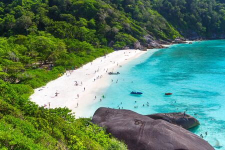 similan islands: Idyllic beach of Similan islands, Thailand
