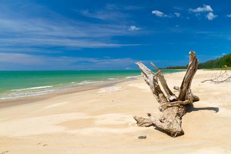 koh kho khao: Idyllic beach of Andaman Sea in Thailand Stock Photo