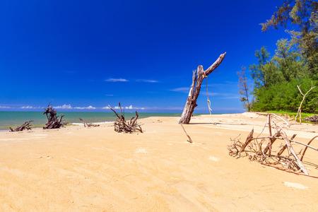 koh kho khao: Beautiful beach at Andaman Sea in Thailand Stock Photo