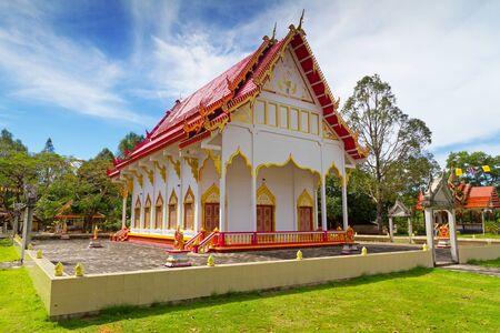 koh kho khao: Wat Rat Niramit Temple in Bang Muang town