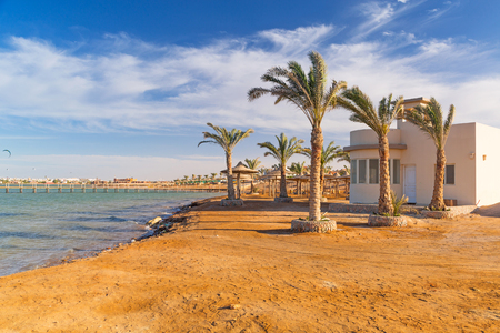 red sea: Beautiful beach of Red Sea in Egypt Stock Photo