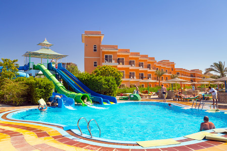 Three Corners Sunny Beach tropical resort in Hurghada